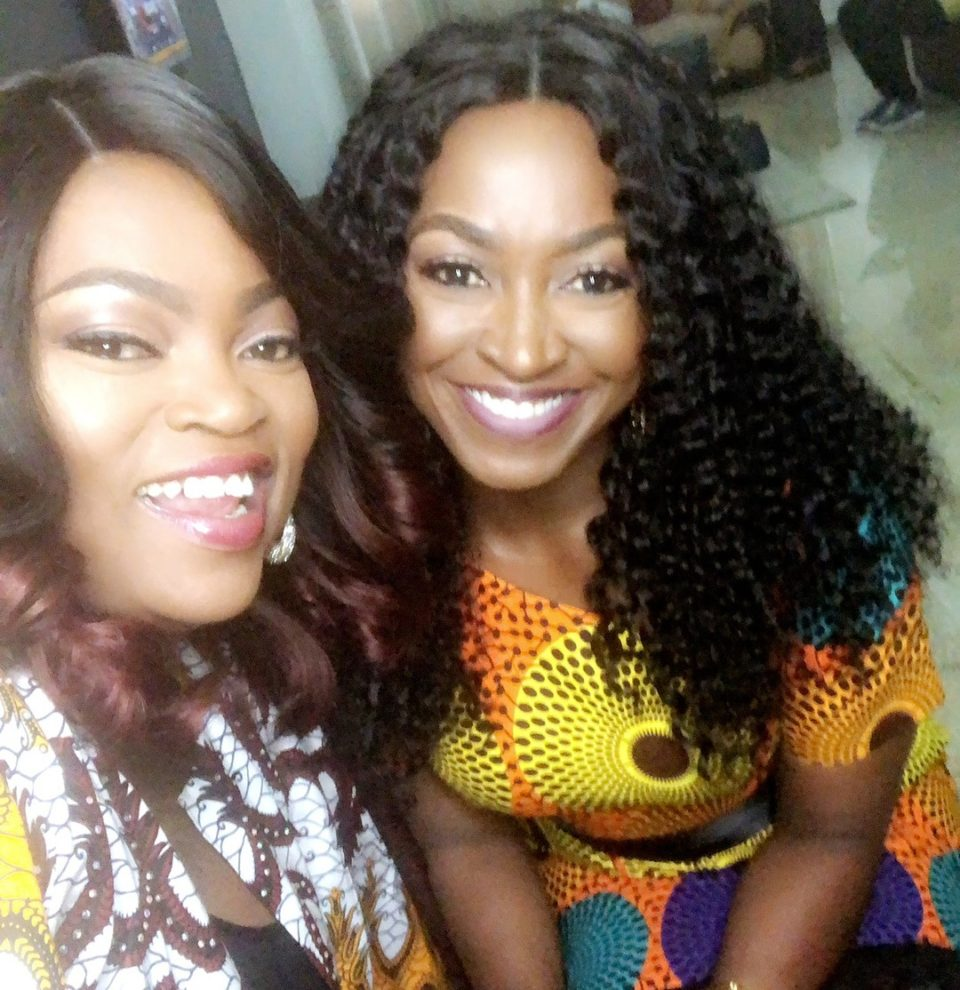 Funke Akindele and Kate Henshaw