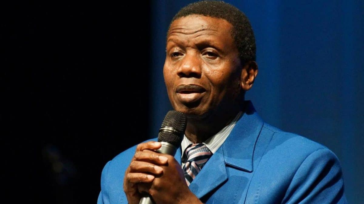The chopper belonging to the General Overseer of the Redeemed Christian Church of God (RCCG) was grounded due to safety concerns.