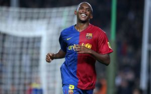 Footballer Samuel Eto'o Survives Car Accident In Cameroon