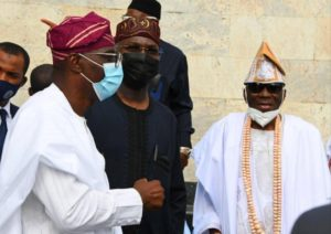 Oba Of Lagos Makes First Public Appearance After His Palace Was Vandalized