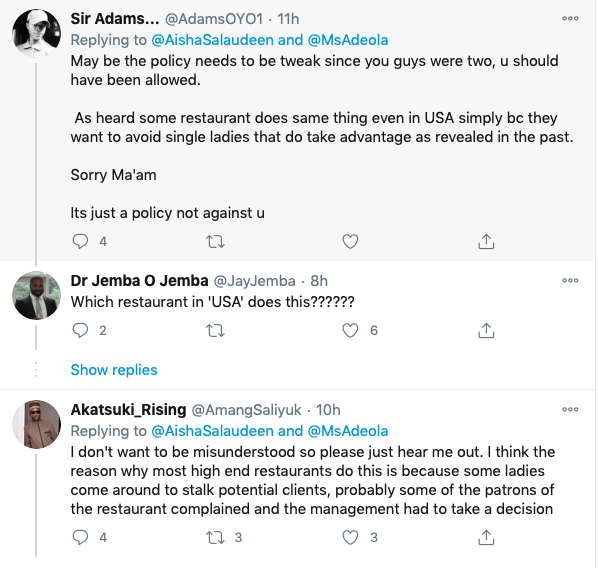CNN Journalist Calls Out Popular Lagos Restaurant For Kicking Her Out
