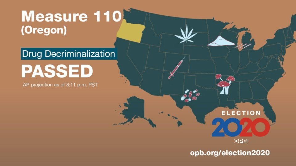 Oregon Becomes The First US State To End Criminal Penalties For Drug Possession
