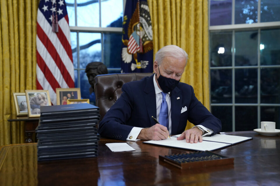 Joe Biden Signs Executive Orders On Covid, Immigration, Climate In First Act As President