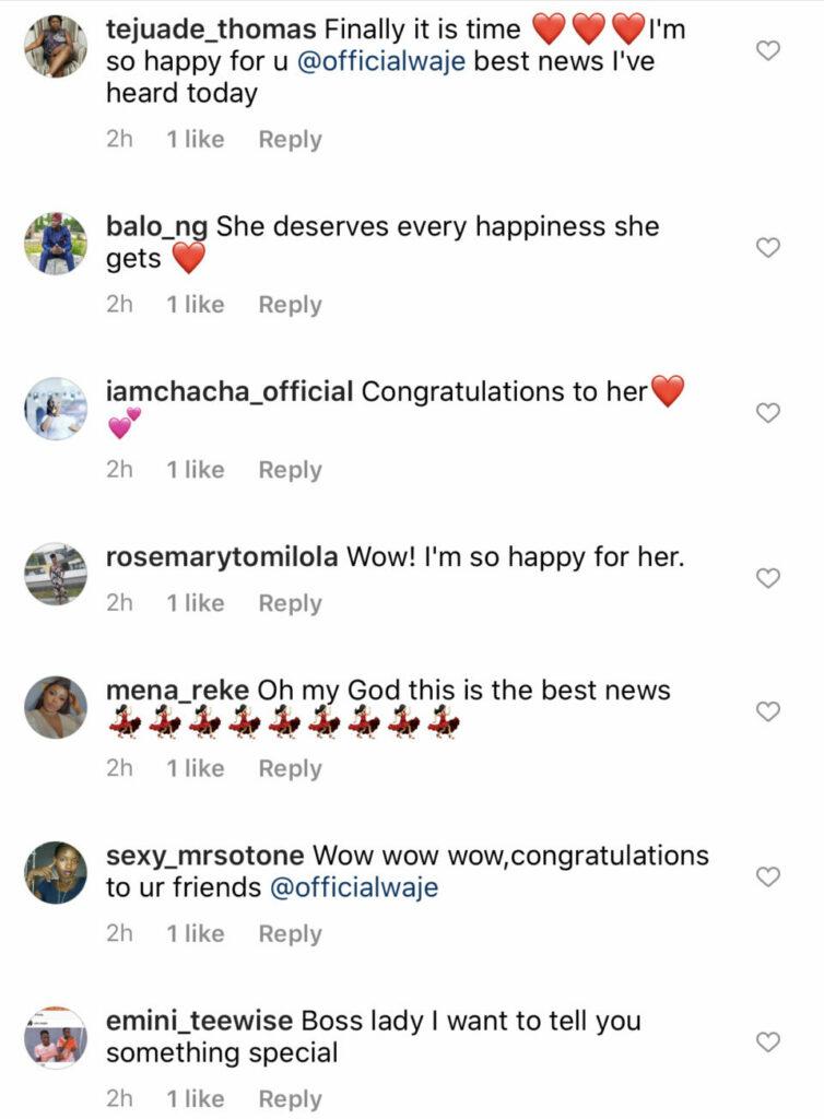 Waje And Ric Hassani Engaged?