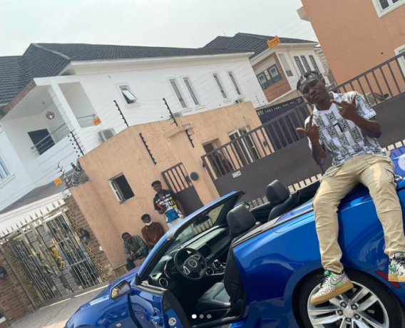 Zlatan Gifts Himself A Chevrolet Camaro Worth N20M