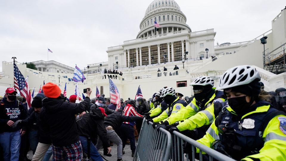Trump Supporters Storm US Capitol As Congress Certifies Joe Biden As President-Elect