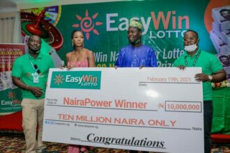 Nigerian Trader Wins N10million Jackpot From EasyWin Lotto