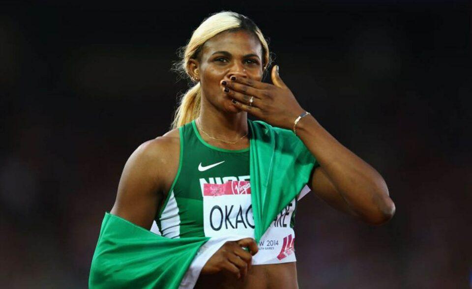 Nigerian Athlete, Blessing Okagbare Becomes Guinness World Records Holder, Beats Usain Bolt.