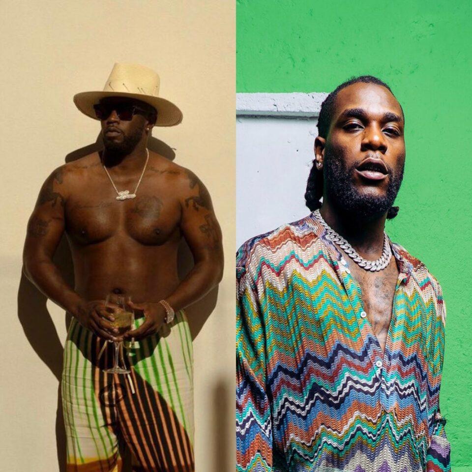 Producer P Diddy Congratulates Burna Boy On Grammy Win