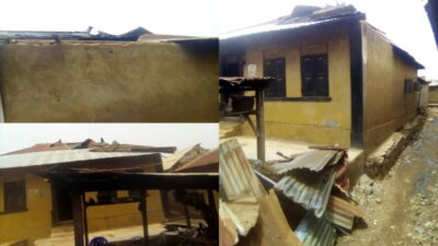 Over 50 People Left Homeless As Rainstorm Destroys Ondo Community