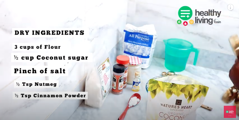 HEALTHY LIVING WITH TOSIN: Plant Based Puff-Puff Recipe