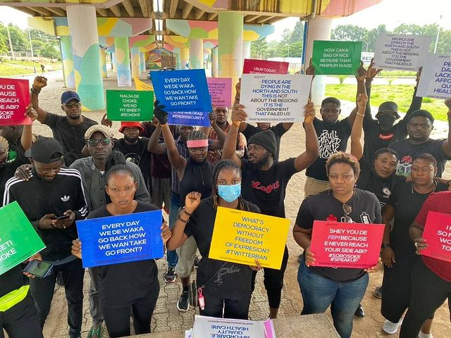 June12Protest: Protesters storm Osogbo, Akure