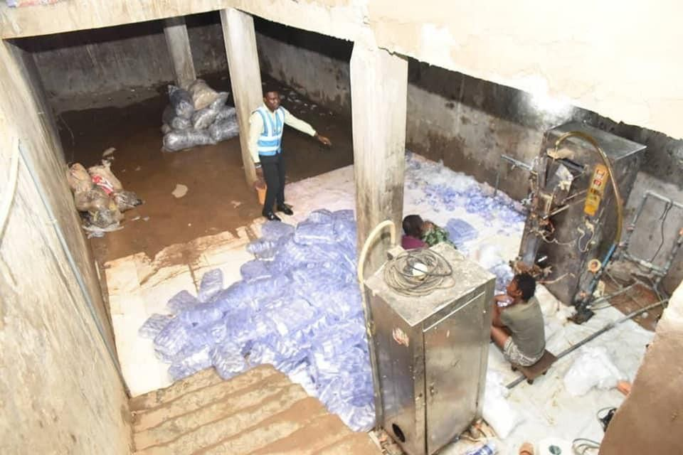 Lagos Government Seals 30 Substandard Sachet water Factories