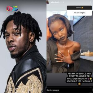 Runtown, And His Girl Friend Seems To Have Ended Their Relationship