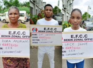 Man, Girlfriend And Mother, Convicted Of Fraud In Asaba