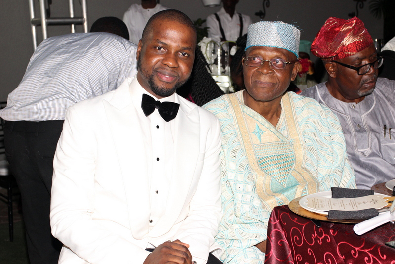 Adebola Williams and Father