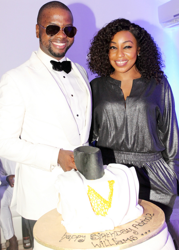 Adebola Williams and Rita Dominic