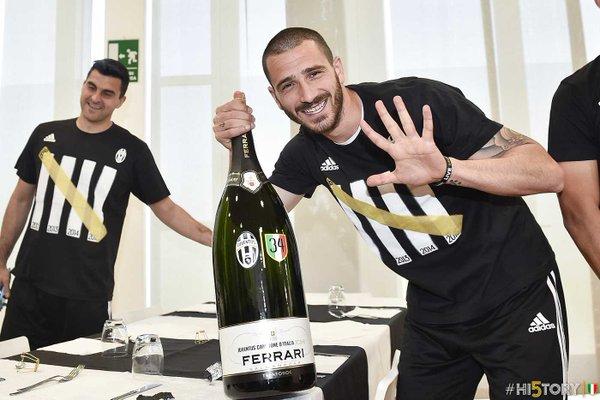 Juventus midfielder Leonardo Bonucci