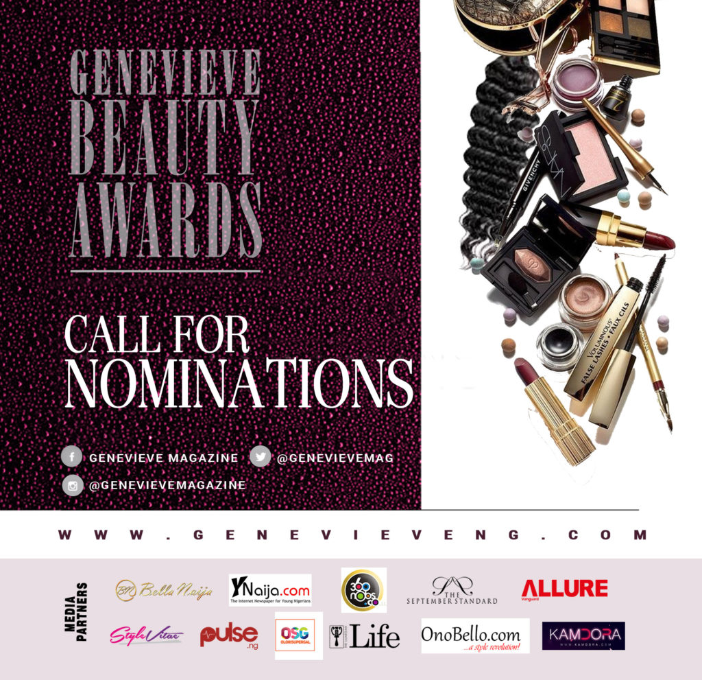 Beauty Awards Nominations Flyer