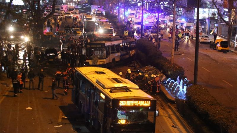The bomb blast occurred in the city of Gazianteo