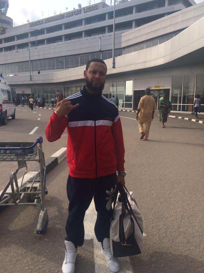 DIRECTOR X ARRIVES IN LAGOS