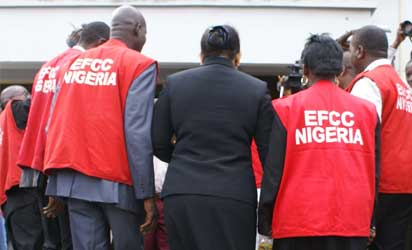 Officials of the EFCC