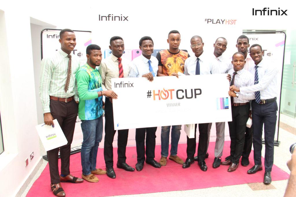 Infinix HOT CUP WINNERS LASUCOM