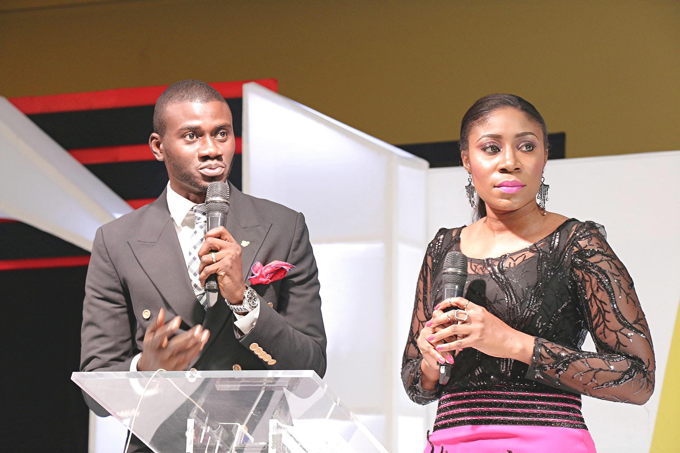 MCs Segun Dangote and Kayla Oniwo