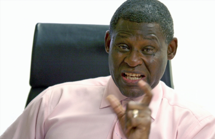 Former Director of the NPA Mokotedi Mpshe