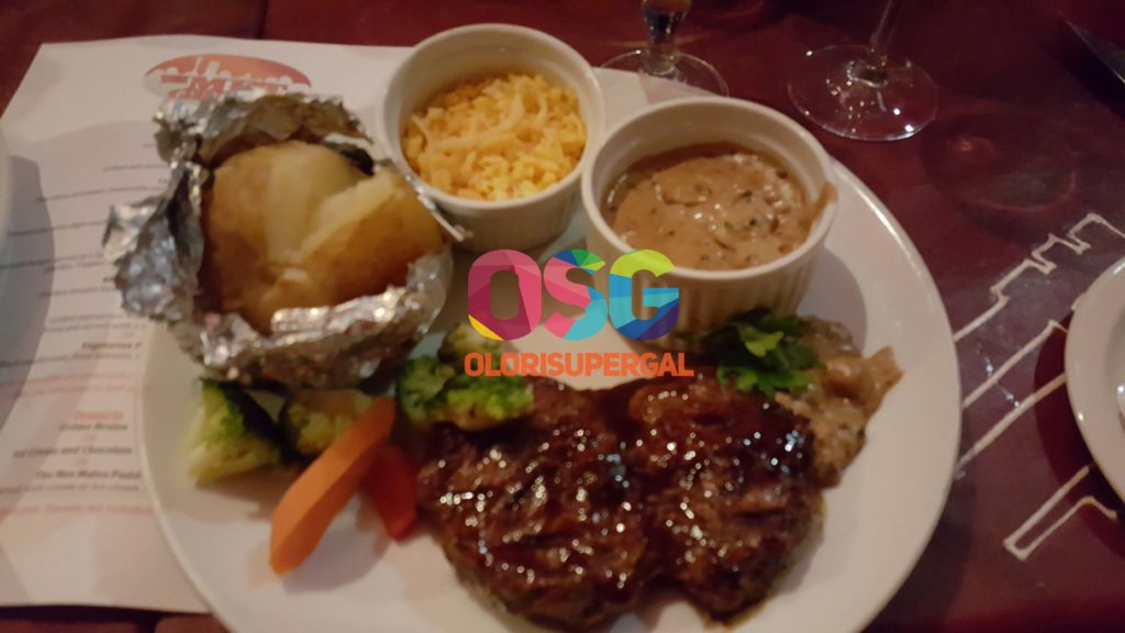 DINNER AT MONTE CASINO - THE NET RESTAURANT