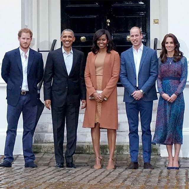 OBAMA WITH PRINCE WILLIAM