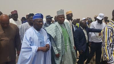 Obasanjo in Borno 1