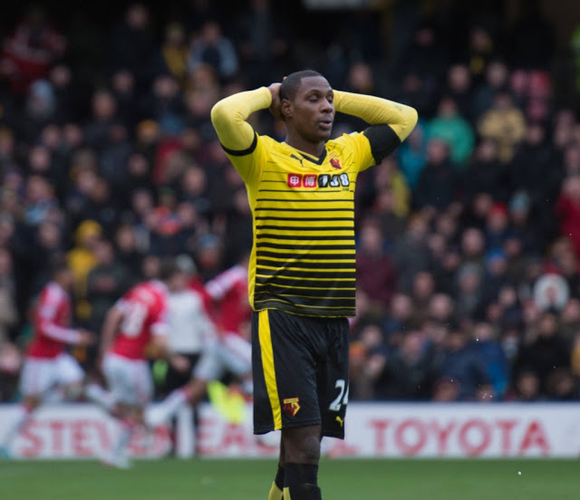 Watford Striker Odion Ighalo