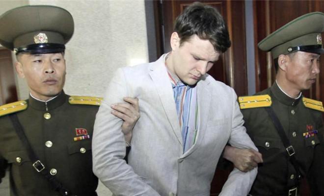 Otto Frederick Warmbier jailed in North Korea
