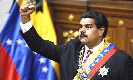 President Nicolas Maduro of Venezuela