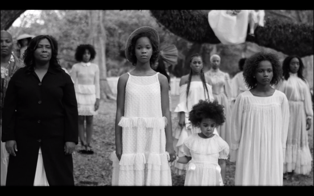12 year old actress Quvenzhane Wallis and Blue Ivy
