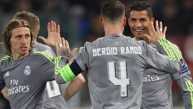 Real Madrid face Manchester City in the UEFA Champions League Semi Final