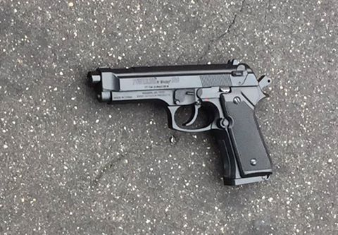 Replica handgun recovered from shooting in Baltimore