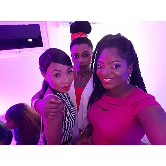 SELFIE WITH MOCHEDDAH AND MAYREEJAY