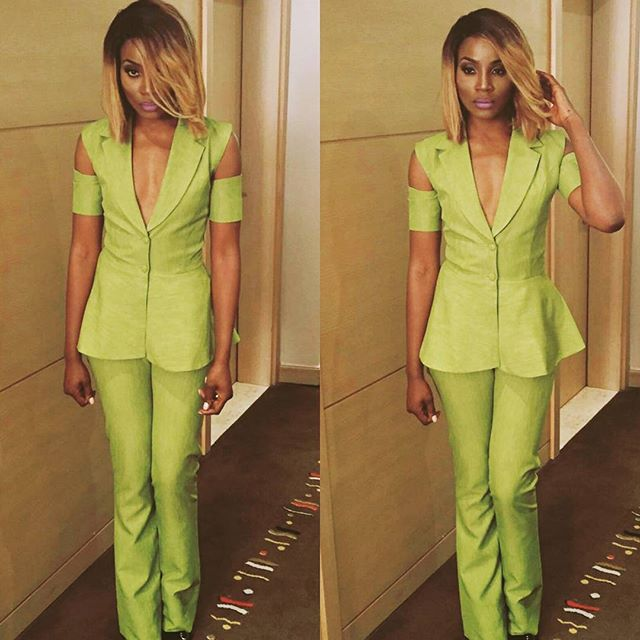 SEYI SHAY ON SET 2