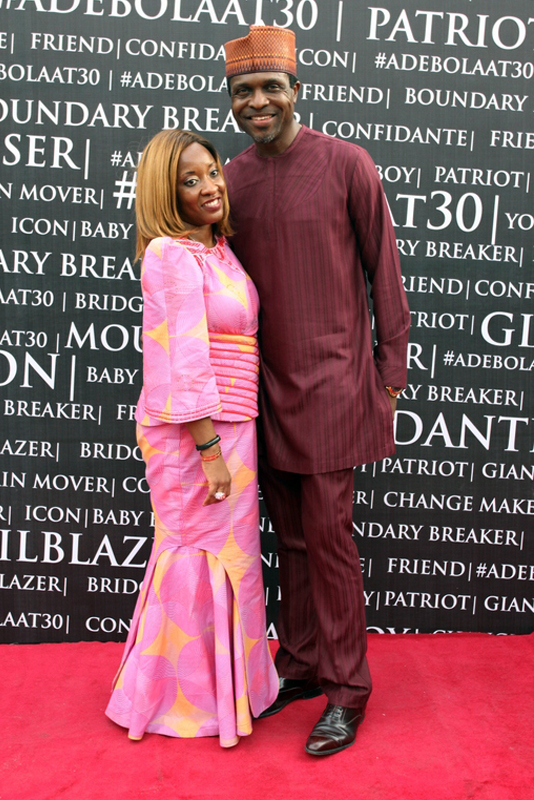 Tonye Cole and wife (2)